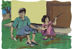 Cerita Pendek Anak: Membuat Sapu Lidi