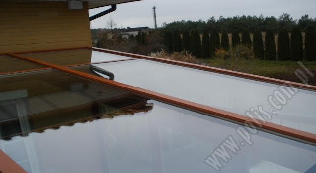 szyby dachowe, szklenie dachu ogrodu zimowego,