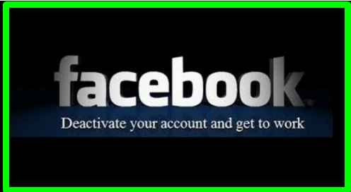 Method of Deactivate Facebook Account Link