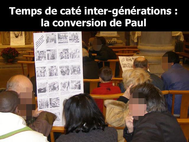 Rencontre de caté : La conversion de Paul