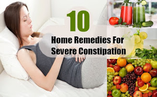 natural remedies to relieve constipation