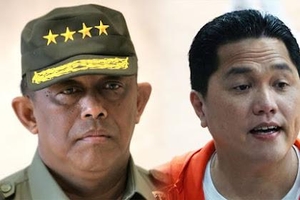Begini Jurus Eks Panglima TNI ini Hadapi Strategi Erick di Kubu Jokowi