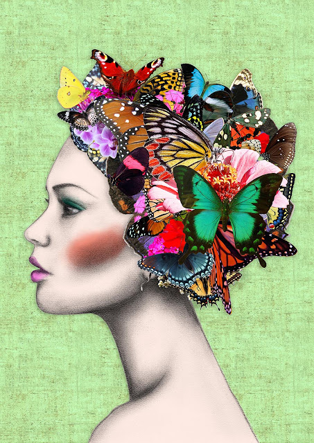 Beautiful Butterfly Girl Wallpaper Muppet And Co