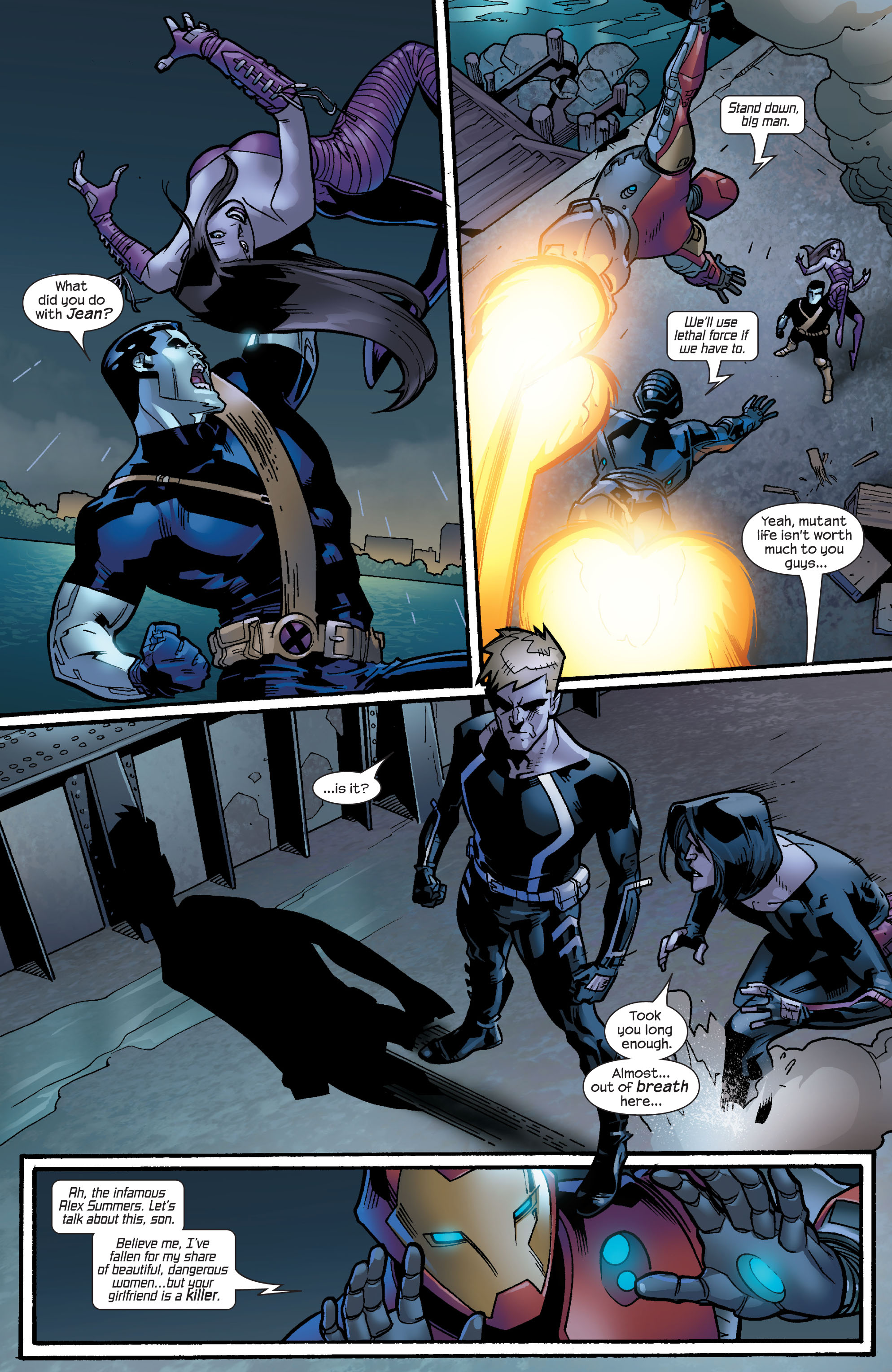Read online Ultimate X-Men comic -  Issue #64 - 15