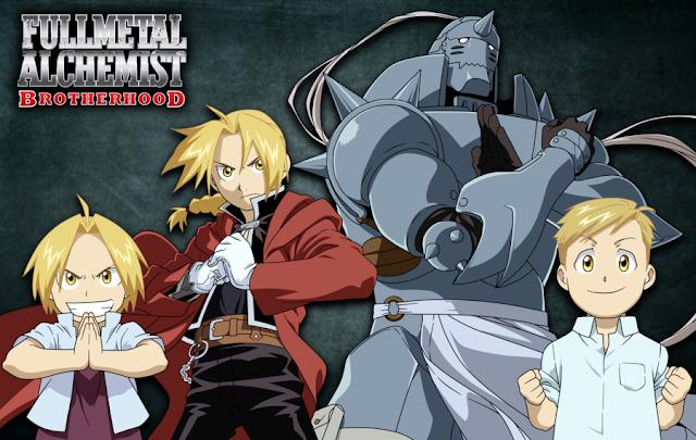 Fullmetal Alchemist: Brotherhood (64/64) + OVAS (55MB) (HDL) (Latino) (Mega)