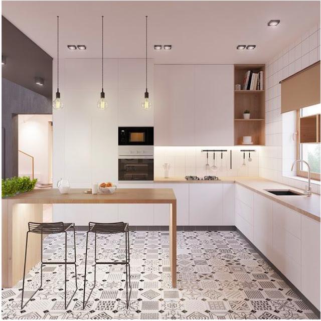 minimalist neutral kitchen decor