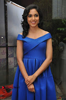 Actress Ritu Varma Pos in Blue Short Dress at Keshava Telugu Movie Audio Launch .COM 0036.jpg