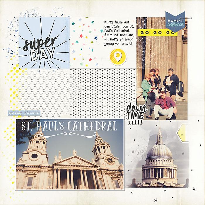 London Reisealbum St. Paul's Cathedral