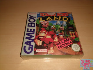 nintendo super gameboy donkey kong land