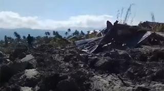 Tanah Berjalan di Petobo Palu