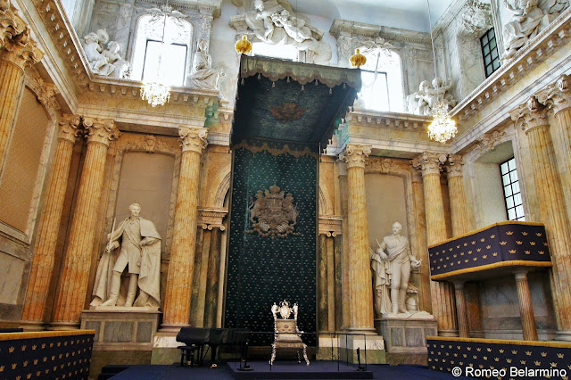 Royal Palace Throne Things to Do in Stockholm Sweden