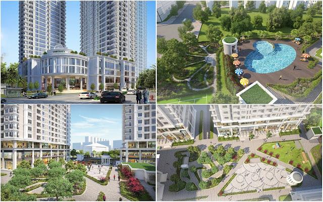 Vimefulland xây dựng tiện ích Iris Garden nội khu hoàn hảo
