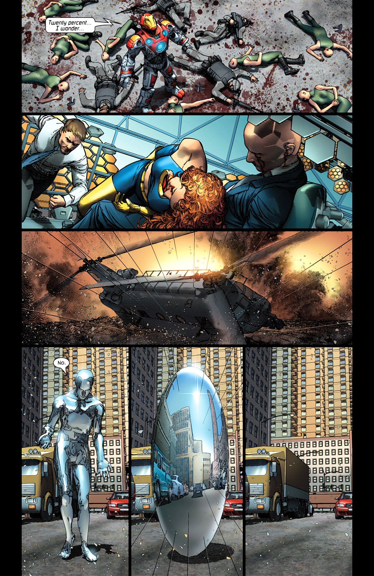 Read online Ultimate Extinction comic -  Issue #5 - 21