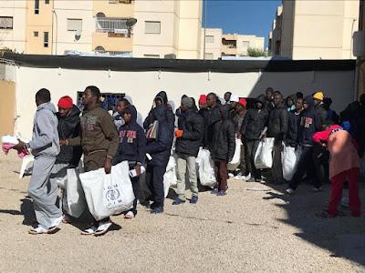 Photo: Fresh batch of 67 Nigerians repatriated from Libya