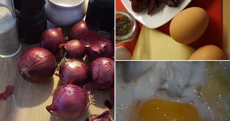 Balsamico-Zwiebelkuchen - Zutaten