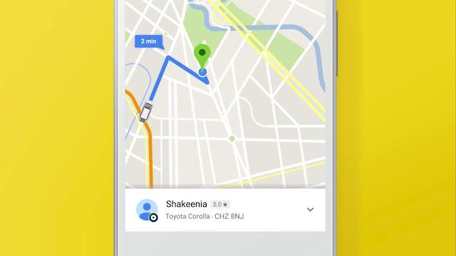 Giờ đây, người dùng có thể gọi xe Uber từ ngay trong Google Map