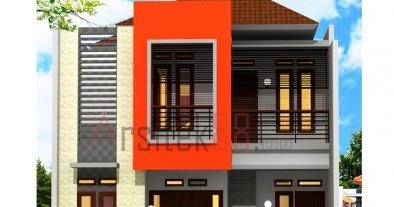 desain rumah dua lantai ukuran 8x10, inspirasi top!