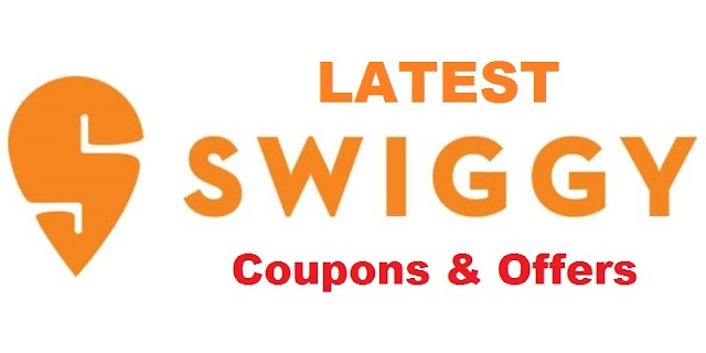 Latest Swiggy India Working Coupons and Offers