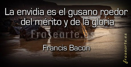 Frases sobre la envidia – Francis Bacon