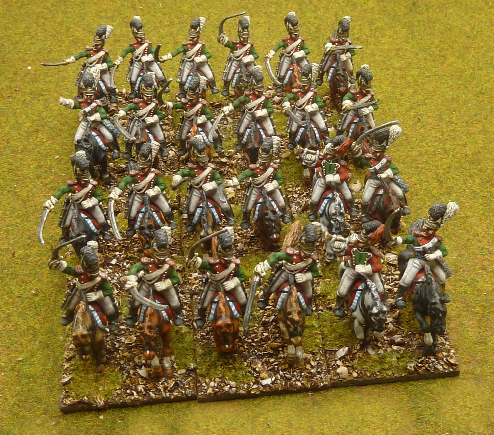 Lace N Big Hats 28mm Napoleonic Bavarian Cheveauleger