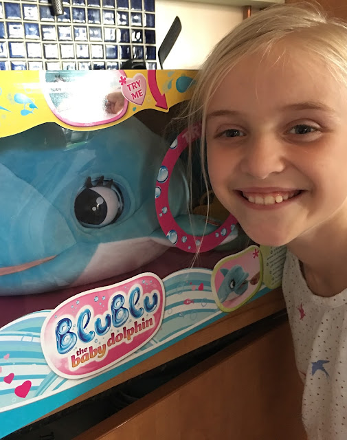 BluBlu the baby dolphin toy review