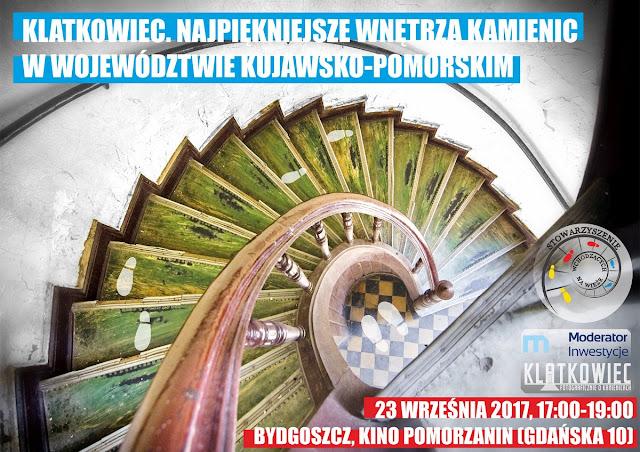 Spotkanie z Klatkowcem w Bydgoszczy: 23.09.2017