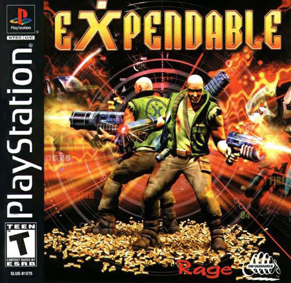Expendable  - PS1 - ISOs Download