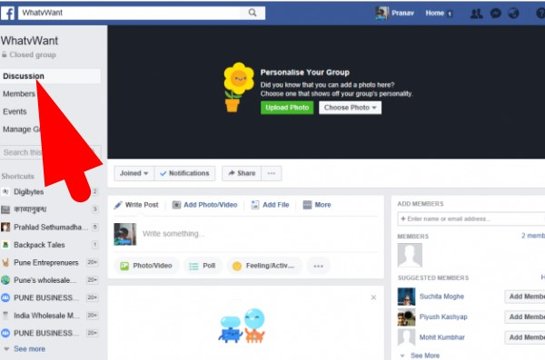 How to delete facebook group page delete facebook group ccuart Choice Image