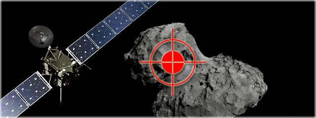 Resultado de imagem para Rosetta: colisão com cometa acontece esta semana