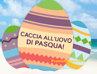 Logo Trova l'Uovo di Pasqua e vinci gratis viaggio in Thailandia, Messico o Bali