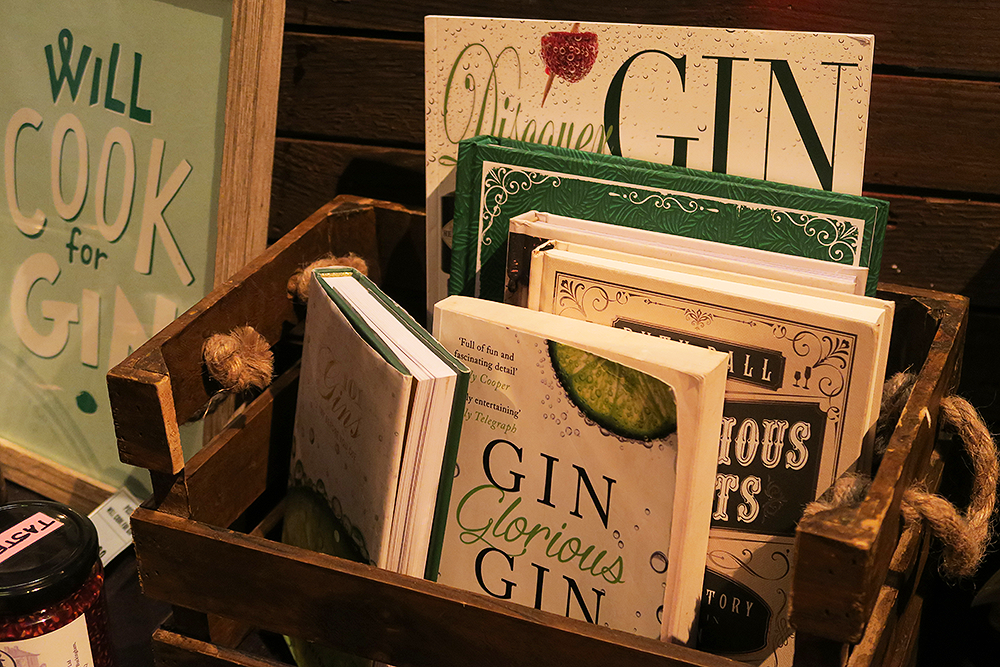 Gin books at the Gin Festival Leeds 2016