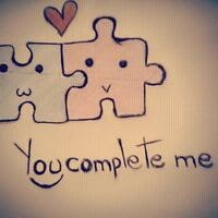 you complete me whatsapp dp