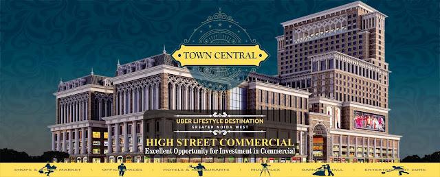 PKS Town Central a Best Commercial Destination in Noida Extension