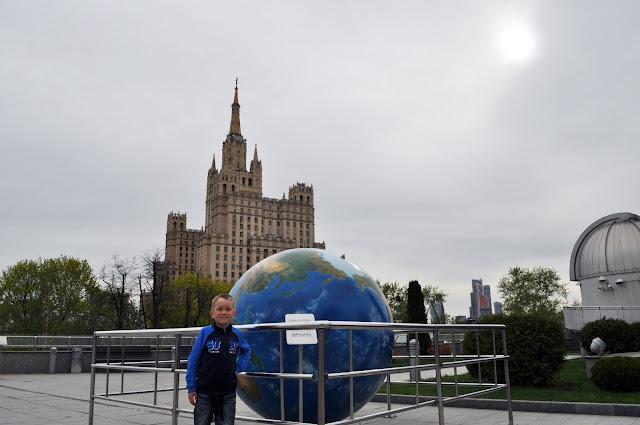 Московский Планетарий. На крыше