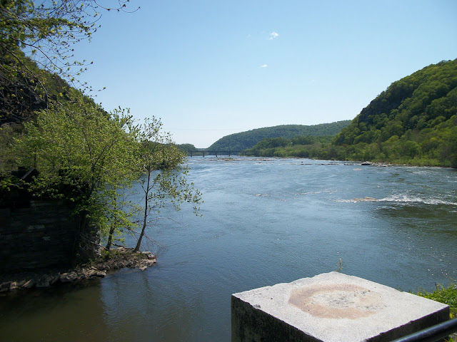 Confluence of the Potomac & Shenandoah Rivers in Harper's Ferry