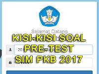 Download Soal Latihan Post Test PKB 2017/2018 Semua Jenjang