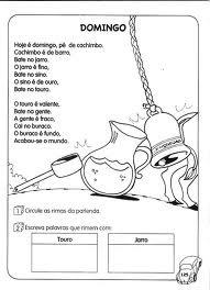 Atelie Doce Magia Em Ensinar Parlendas Infantis Ilustradas