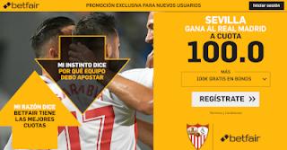 betfair supercuota  Sevilla gana Real Madrid 19 enero 2019