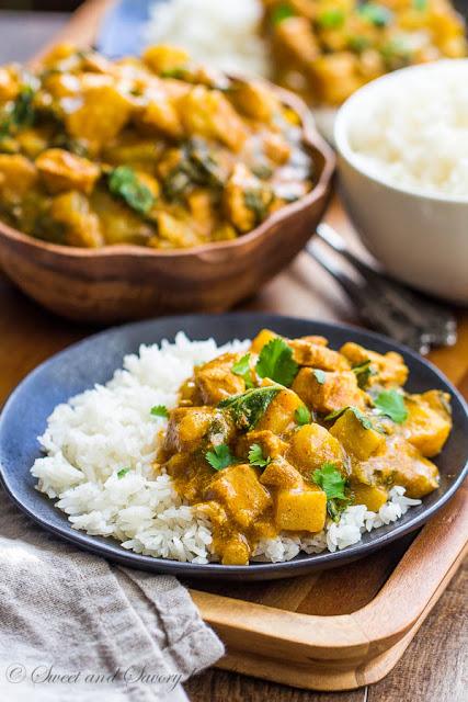 easy bok choy chicken curry recipe
