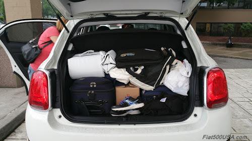 Fiat 500X Trunk
