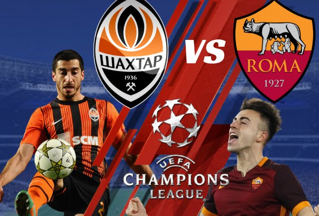 DIRETTA Shakhtar-Roma Streaming Gratis YouTube Facebook: dove vederla in TV e OnLine | Champions League