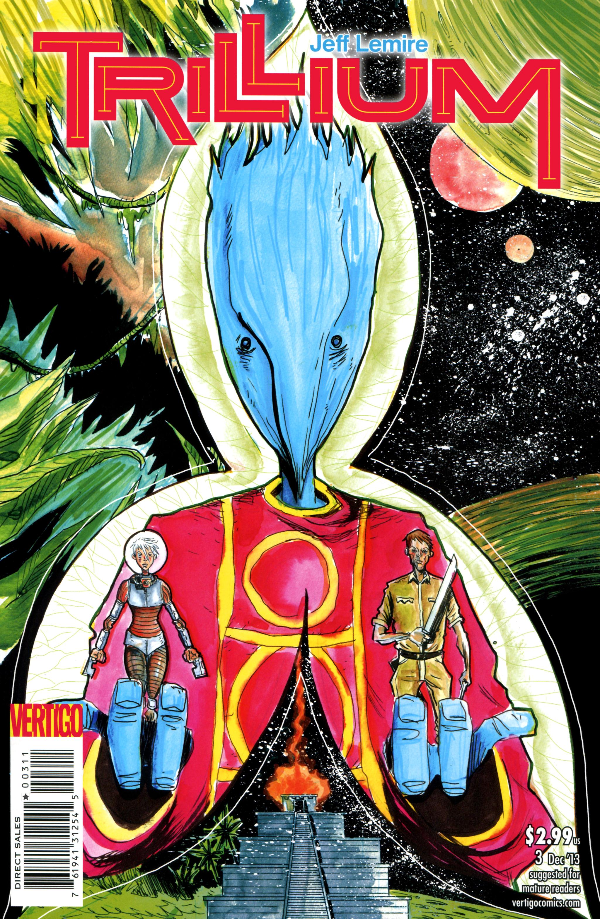 Read online Trillium comic -  Issue #3 - 1