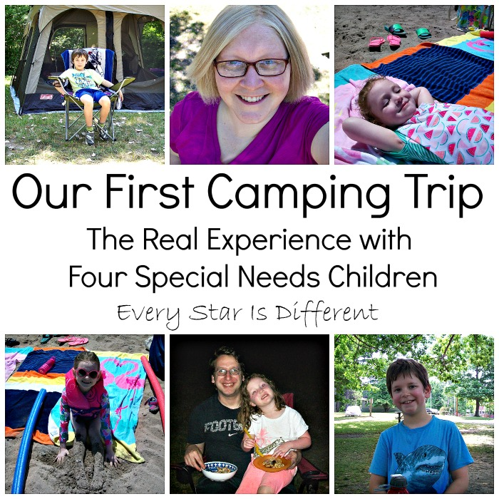 Our First Camping Experience with Special Needs