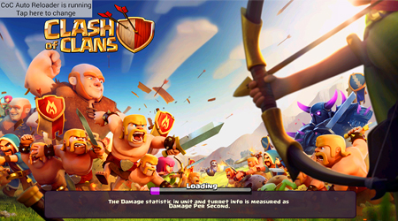 game for always online without fear of being attacked and lost Loot or Trophy COC Auto Reloader APK | MOD Hack Clash of Clans App