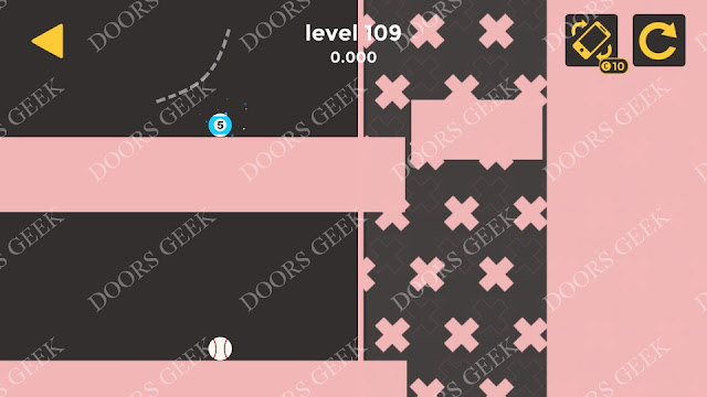 Ball & Ball Level 109 Solution, Walkthrough, Cheats for android and ios