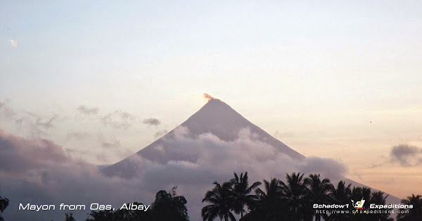 Mayon Volcano from Oas Albay - Schadow1 Expeditions
