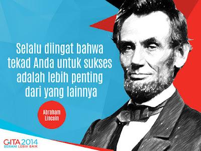 Kata-kata Bijak Dari Om Lincoln