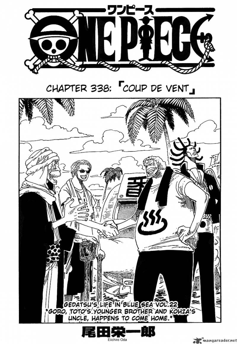 One Piece Ch 338
