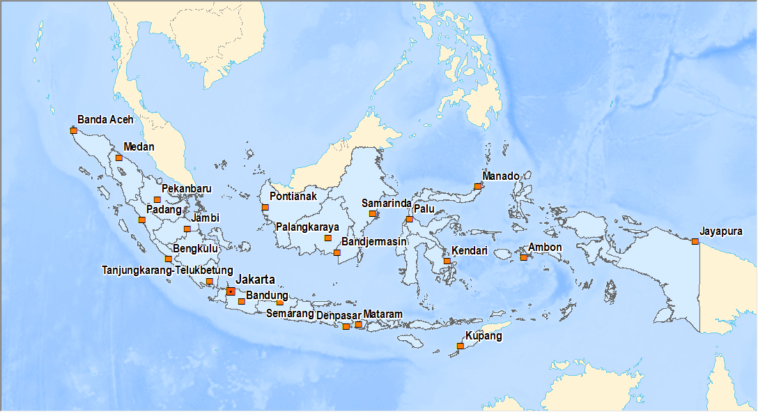 Data Shp Shapefile Seluruh Indonesia Info Geospasial