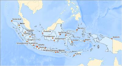 peta dasar indonesia